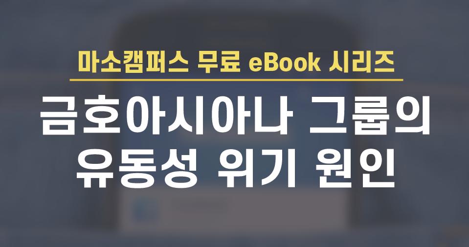eBook-28. 금호 아시아나그룹의 유동성 위기 원인, 대우건설 M&A 사례 분석