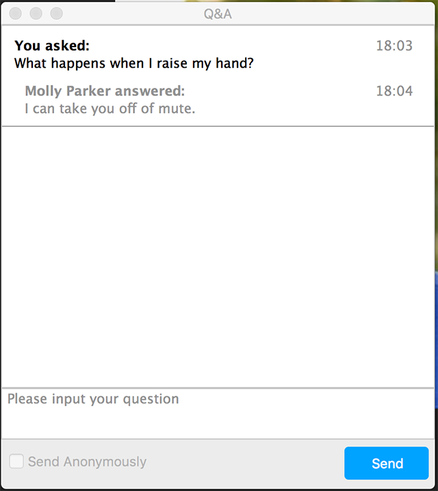 질문 등록 하기